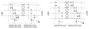 DNF09-3PH Electrical Schematic