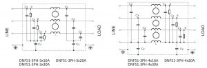 DNF51 ELECTRICAL SCHEMATIC