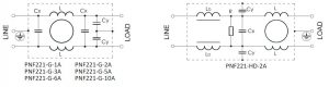 PNF221 ELECTRICAL SCHEMATIC