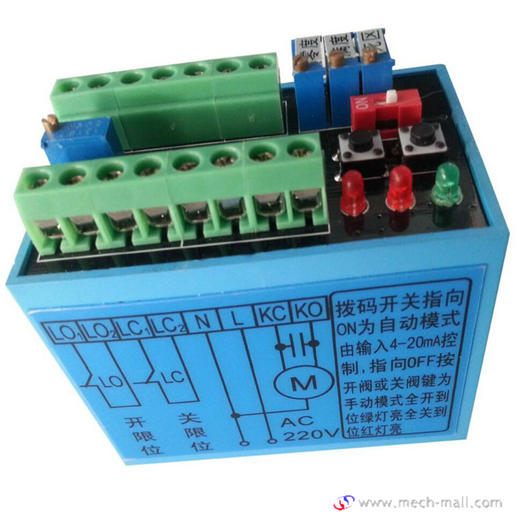 GAMX-2012 Electronic Positioner